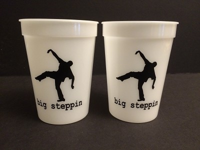 12oz Big Steppin Glow Cups - limited edition