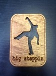 Big Steppin Square Magnet