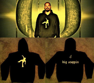 Big Steppin Hoodie - Sweatshirt Pullover (only small, 3XL, 4XL available)