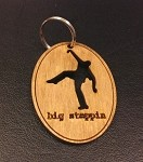 Big Steppin Key Chain