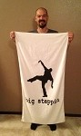 Big Steppin Beach Towel - Small