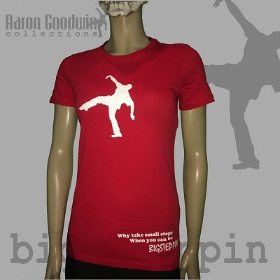 Ladies Big Steppin Red - limited edition
