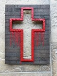 Wooden Cross #2 by Aaron Goodwin 12X16