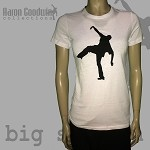 Big Steppin Women's White T-Shirt - limited edition